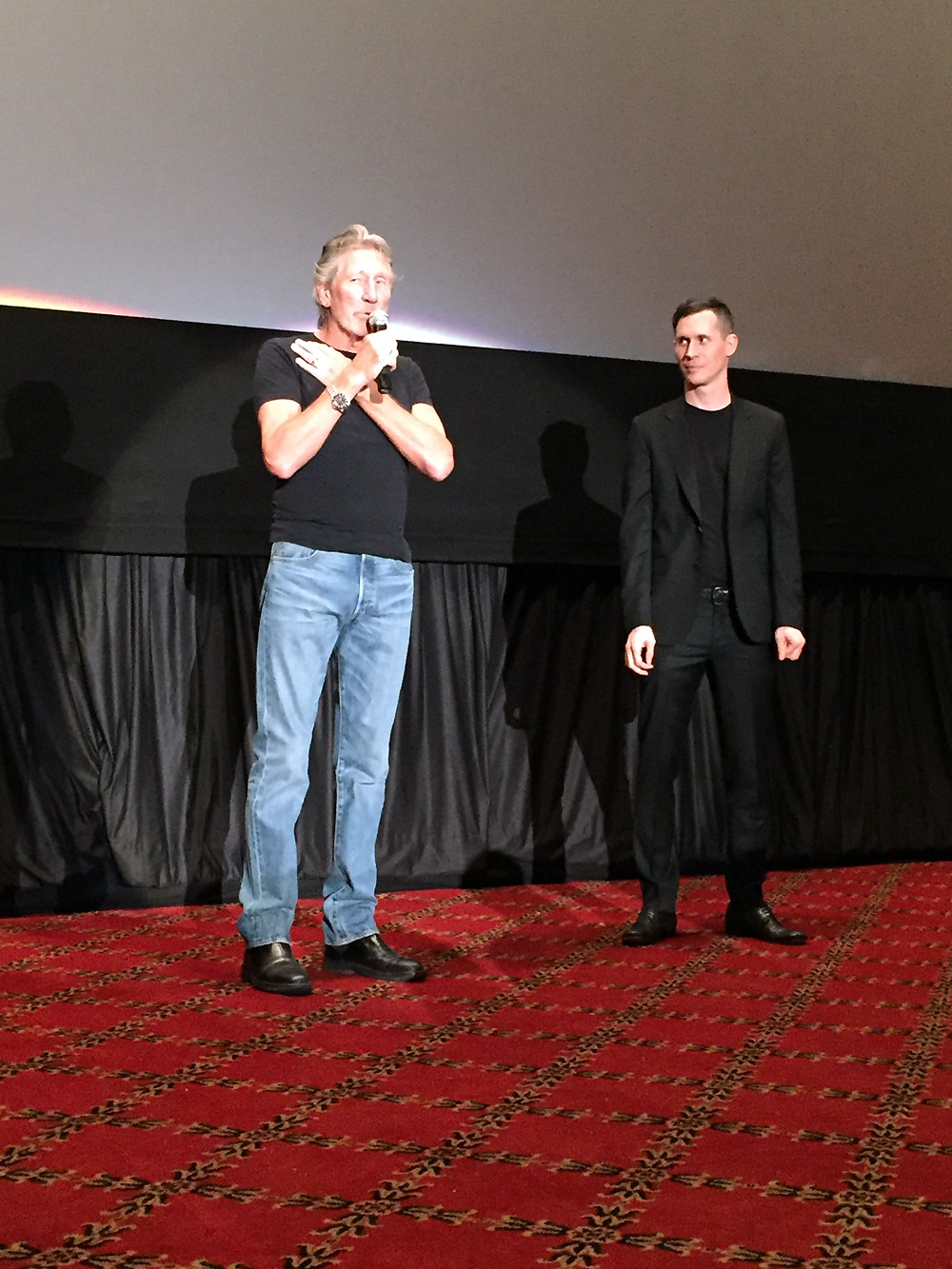 Roger Waters introduces the film with co-director Sean Evans